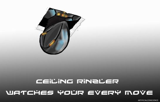 Ceiling Rinzler by ArtificialConscience