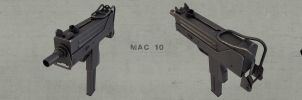 MAC 10 strip by mimicry3d