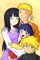 Uzumaki family by kuki4982