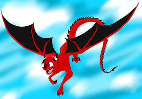 Kage as a Dragon[Normal From] by pokegirl150