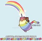 Rainbow Butterfly Unicorn Kitten by ZeroJigoku