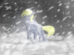 snowstorm by AshenChi