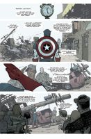 Captain America 616 page 1 by whoisrico