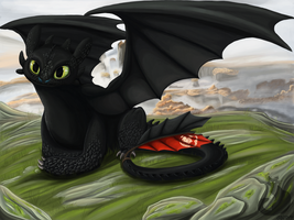 Toothless by Blaukralle