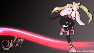 Lucky Chloe - Minimalist Wallpaper by Aerie-desu