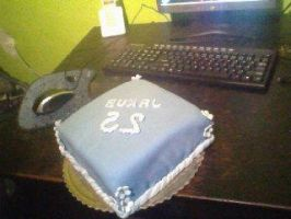 b day cake by Wolfie661