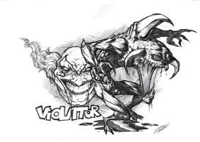 Spawn VIOLATOR by GEBdesign