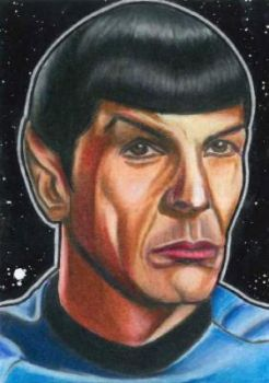 Mr. Spock by JRosales1