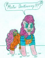 Pinkie The Menace by Jose-Ramiro