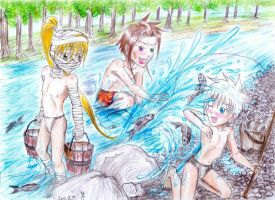 Fun at the river by UnknownSoulCollector