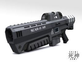 SCAR-11 AR Front View by Shinigami12