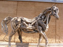 Wooden Horse Stock by Tangie-Stocks