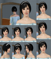 The Sims 3 Female Sim Asian Look by ChewChewLovesYou