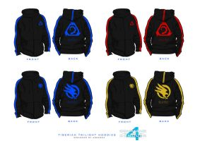 Command and Conquer Hoodies. by Adder24