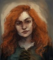 Portrait Ezoria by kaiyela