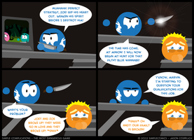 SC228 - Most Dangerous Game 28 by simpleCOMICS