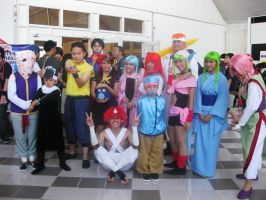 Yu Yu Hakusho Team -Mangaholix by paganprincess-aeris