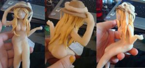 summer girl figurine WIP by sweet-pea-soup