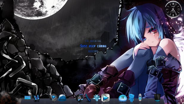 Blue Pimped Out Windows 8 by RedxMoonxRose
