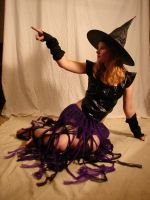 Jodi Purple Halloween Witch 47 by FantasyStock