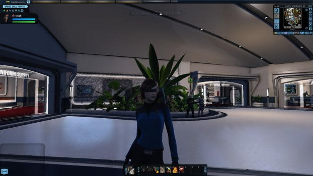 My MMORPG characters part 2 Star Trek Online by MathisAl1990