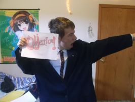 My Phoenix Wright Cosplay # 1: Objection! by AndroidX92