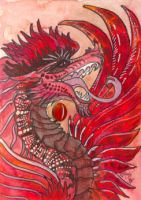 ACEO Dragon 40 by rachaelm5