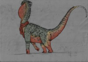 Dinosaur concepts: The last giant. by Austroraptor