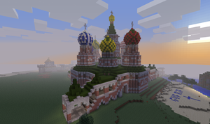 Saint Basil's Cathedral by spycrap