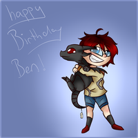 HAPPY BIRTHDAY YOU PRICK by doragon-hane