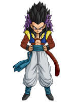 SSJ4 Gotenks by brolyeuphyfusion9500