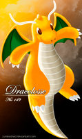 Pokemon -149 Dragonite- by Junleashed