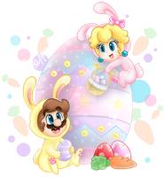 .:Have a chocotastic Easter!:. by CloTheMarioLover