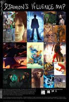 Influence Map by DJaimon