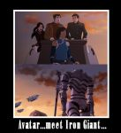 Avatar...Meet Iron Giant by Unknown117