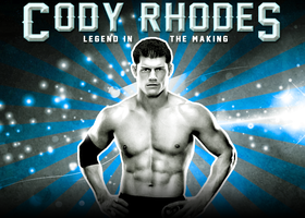Legend in the Making Cody Rhodes by Photopops