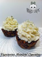 Vegetarian Meatloaf Cupcakes by Corpse-Queen