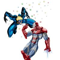 Speedball vs iron patriot by Tentu