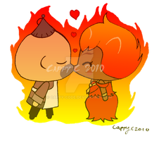 Burning Love -Ho x Hotty- by capcappucca222