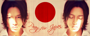 Pray for Japan by LeonLampard