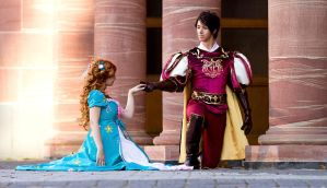 Edward x Giselle Cosplay by Berry-Cosplay