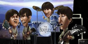 The Beatles by Garrenh