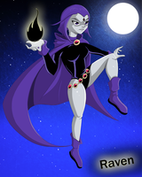 Teen Titans Raven by Natty354