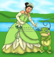 050. Cosplay Time: Disney's Princess and the Frog by Hakui-Kitsune