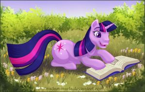 MLP Twilight Sparkle by madam-marla