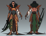 Amateur League - Genderbent Scylliss turnaround by ultema