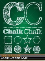 Chalk Board Illustrator Style by gruberdesigns