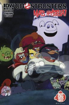 Angry Birds Ghostbusters by T-RexJones