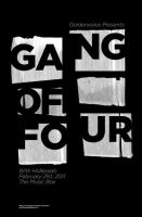 Gang of Four Poster by Jawa-Tron