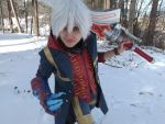 Devil May Cry4 - Nero - Hey, hey, hey! C'mon, babe by snow0storm